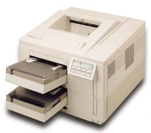 The heavy and large HP Laserjet 4Si