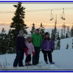The Kids at Blacktail Mountain Ski Resort