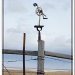 An Interesting Fence Post Ornament Near Lewistown Montana