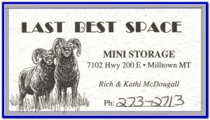 Last Best Space Business Card