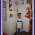 J.J.'s first day at kindergarten