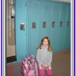 Alia at her locker.